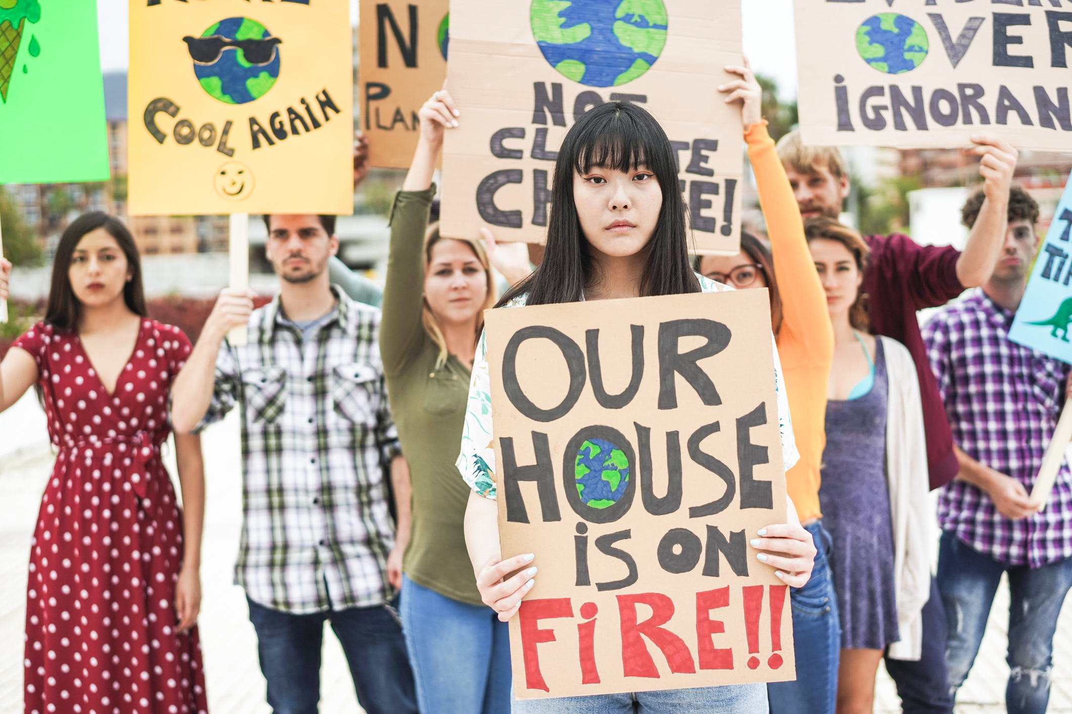 Harnessing customer climate activism